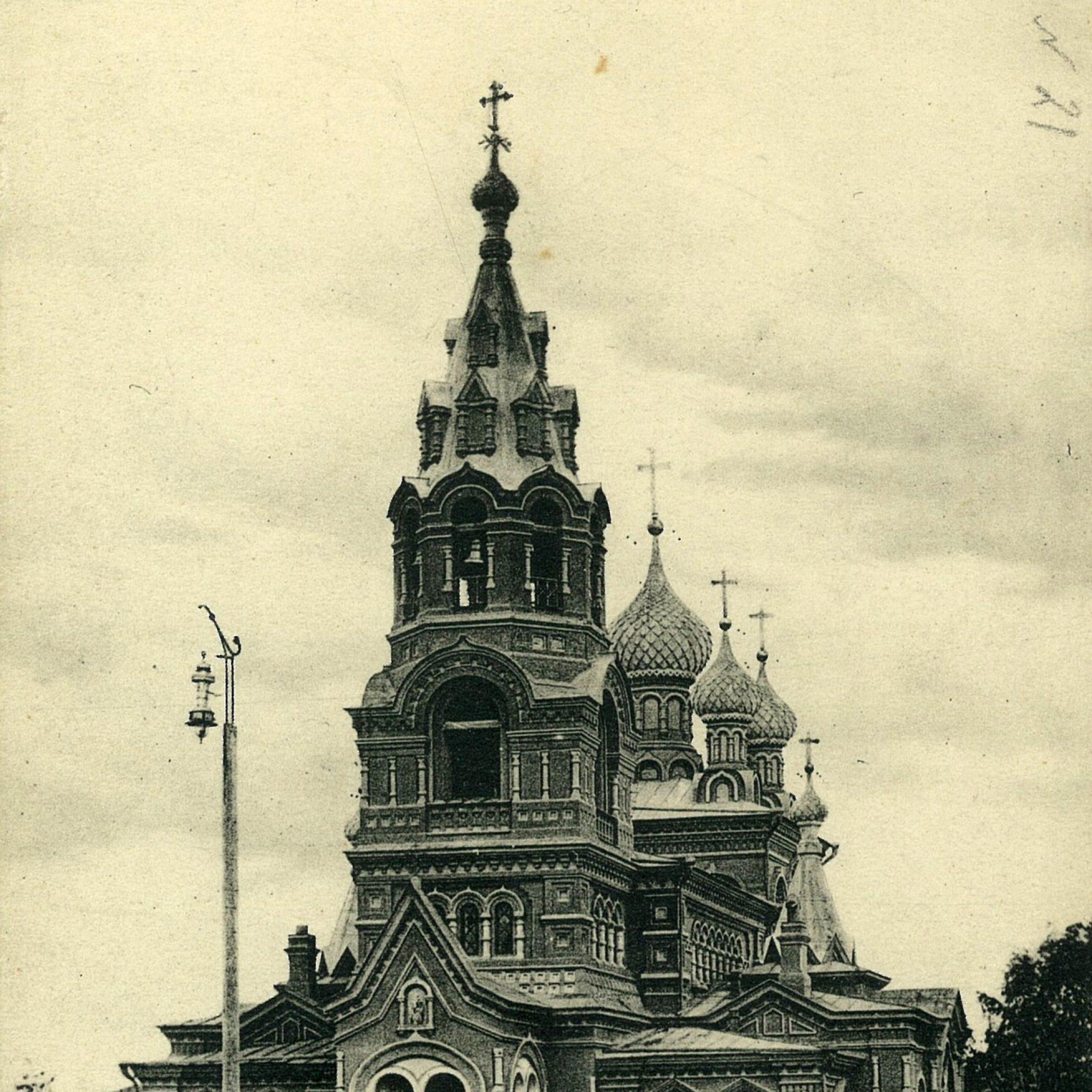 Никольский храм в Слободском