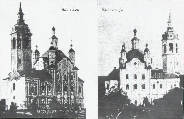 благовещенская церковь с шестаково