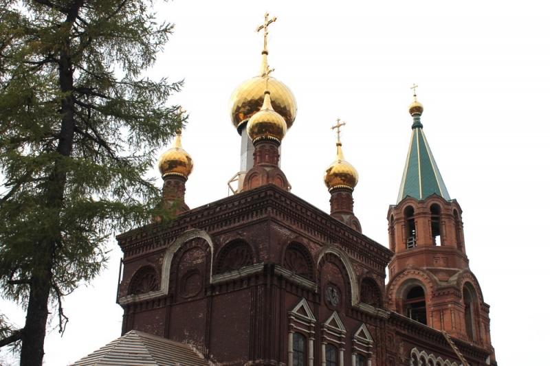 никольская церковь слободской